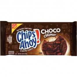 Chips Ahoy! Choco Chunky Crunchy Cookies (290g)