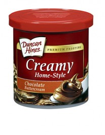 Duncan Hines Creamy Home-Style Chocolate ButterCream Frosting