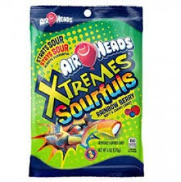 Airheads Xtremes Sourfuls Rainbow Berry (170g)