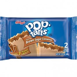 Kellogg's PopTarts Frosted Brown Sugar Cinnamon 2-pack (100g)