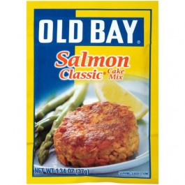 Old Bay Salmon Classic Cake Mix (37g) (BEST-BY 11-10-2018)