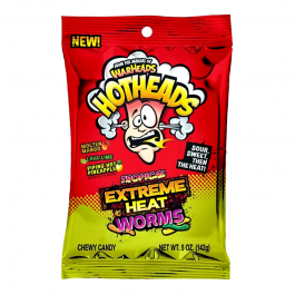 Warheads Hotheads, Tropical Extreme Heat Worms (142g)