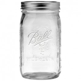 Ball Mason Wide Mouth Half Gallon Jar (64OZ)