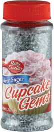 Betty Crocker Silver Sugar Cupcake Gems (63g)