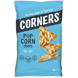 Corners Pop Corn Crisps, Sea Salt (85g)