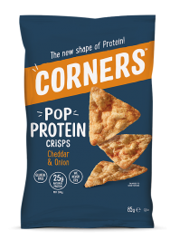 Corners Pop Protein Crisps, Cheese & Onion (85g)