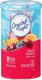 Crystal Light Drink Mix, Fruit Punch (4-pack) (38g)