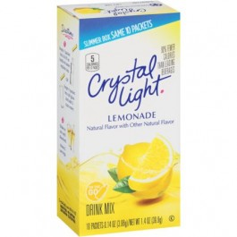 Crystal Light Lemonade  Drink Mix - 10 packets (40g)