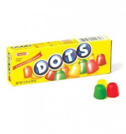 Dots Assorted Fruit Gumdrops Candy (64g)