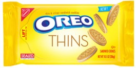 Oreo Thins Golden Sandwich Cookies (287g) USfoodz