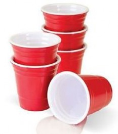 American Shot Cups Red (10 pack)