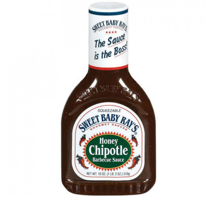 Sweet Baby Ray's Barbecue Sauce, Honey Chipotle (510ml)