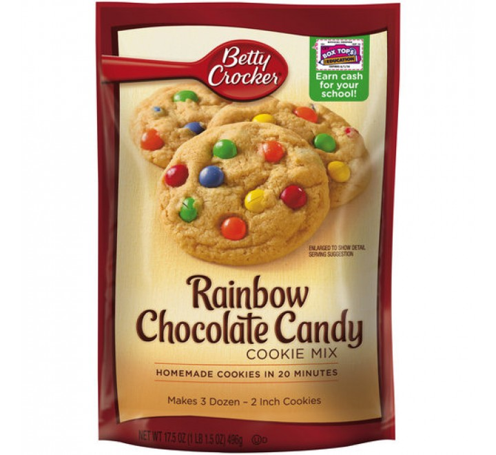 Betty Crocker Rainbow Chocolate Candy Cookie Mix