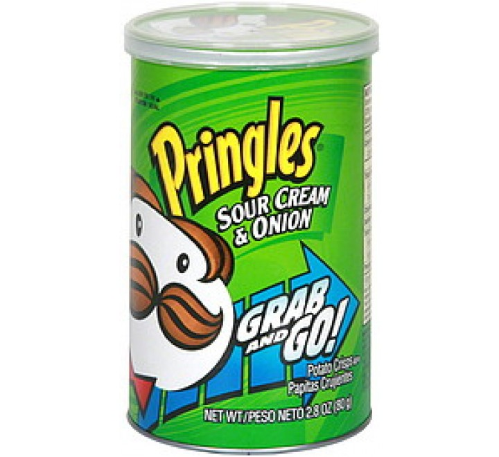 Pringles Sour Cream & Onion Grab 'n Go (71g)