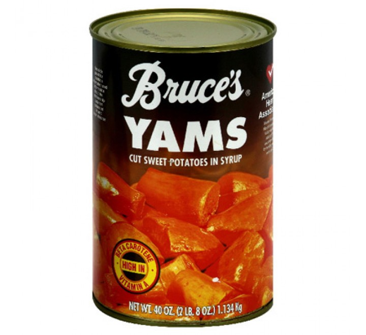 Bruce's Yams Cut Sweet Potatoes In Syrup (1.34kg)