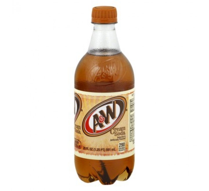 A&W Cream Soda Bottle (591ml)