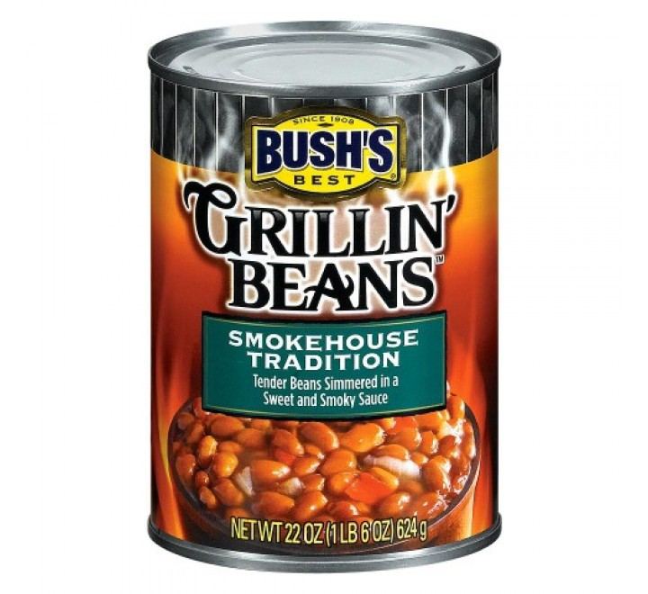 Bush's Best Grillin' Beans SmokeHouse Tradition (624g)