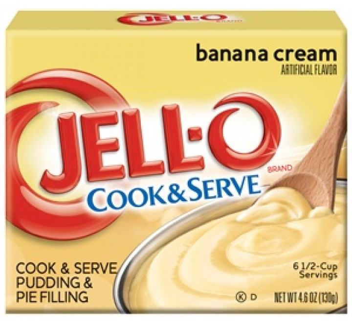Jell-O Cook & Serve Banana Cream Pudding & Pie Filling