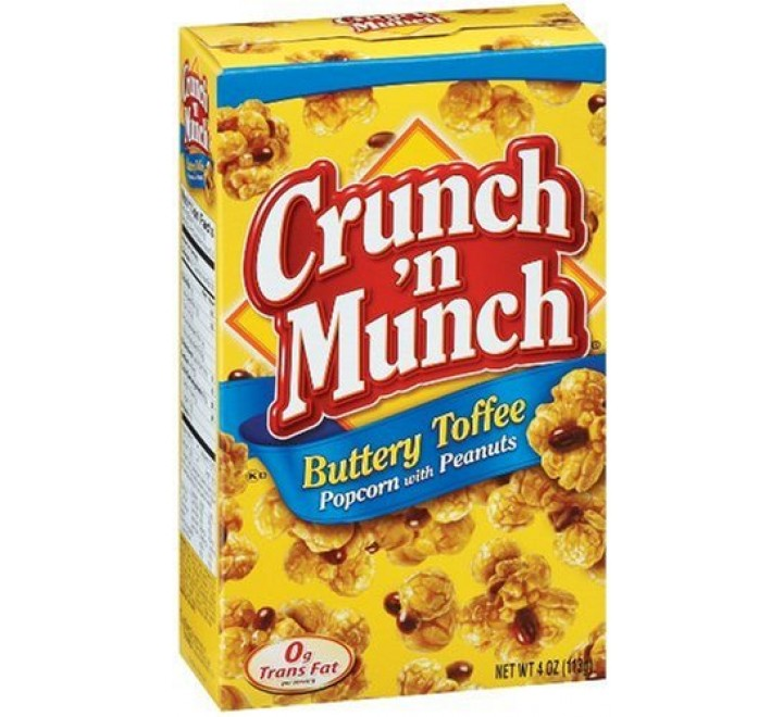 Crunch 'N Munch Buttery Toffee Popcorn with Peanuts (99g)