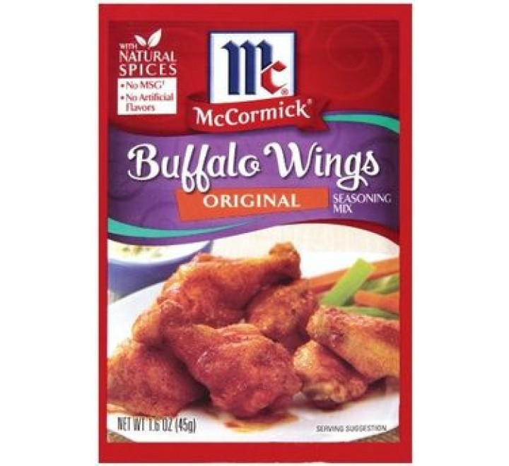McCormick Seasoning Mix, Original Buffalo Wings