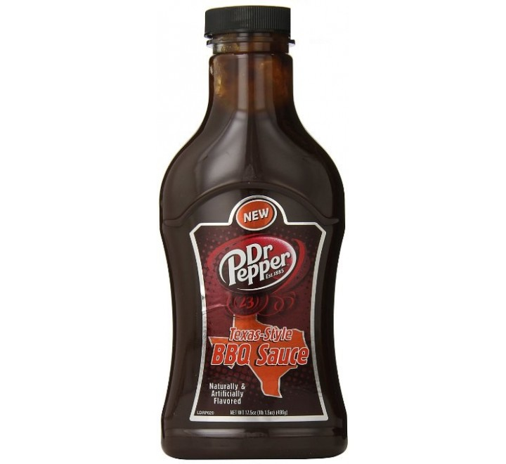 Dr Pepper Texas-Style BBQ Sauce (496g)