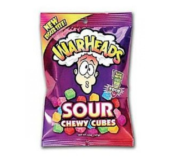 WarHeads Sour Chewy Cubes Bag (141g)