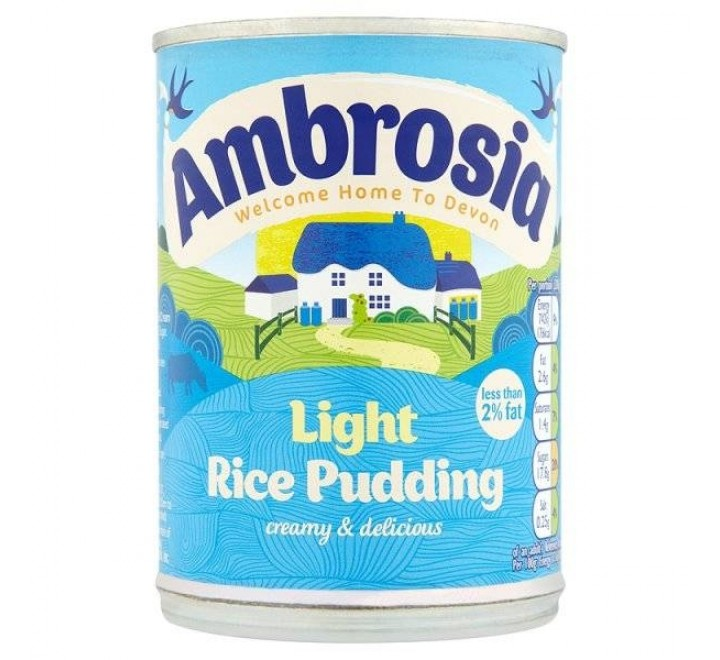 Ambrosia Light Rice Pudding (400g)