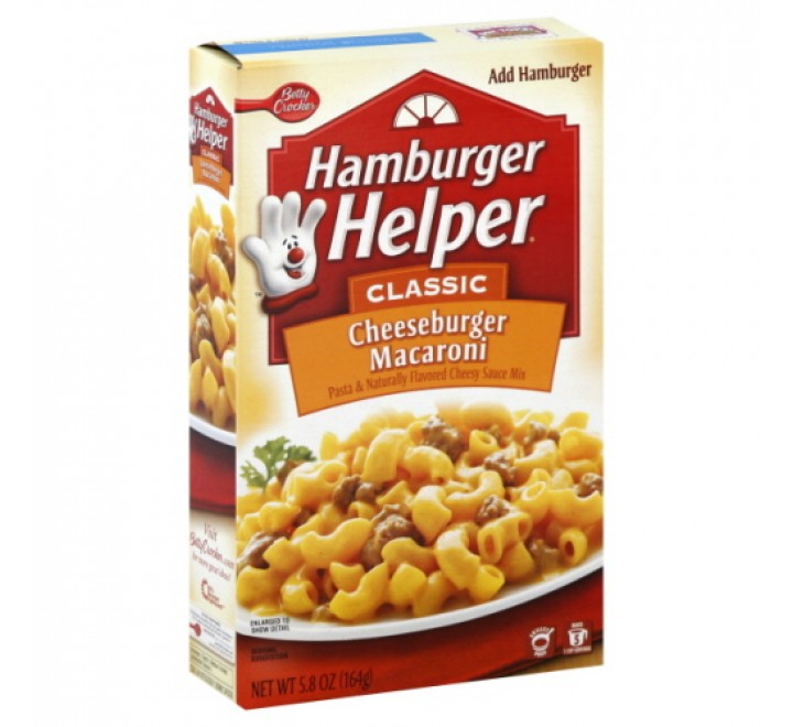 Hamburger Helper Classic Cheeseburger Macaroni (187g)