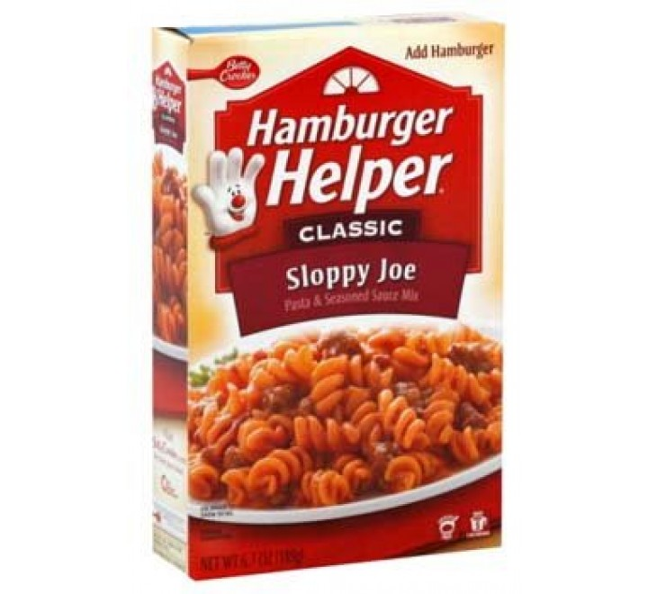 Hamburger Helper Classic Sloppy Joe (189g)