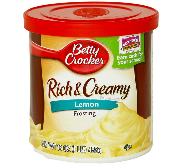 Betty Crocker Frosting, Lemon (454g)