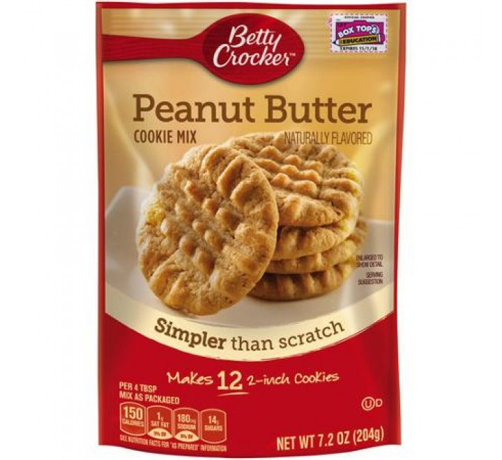 Betty Crocker Peanut Butter Cookie Mix (204g)