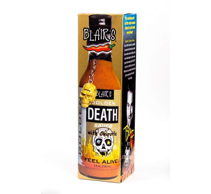 Blair's Golden Death Sauce with Chipotle (150ml)