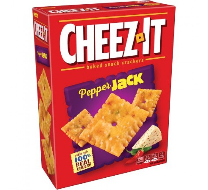 Cheez-It Pepper Jack Baked Snack Crackers (351g) USfoodz