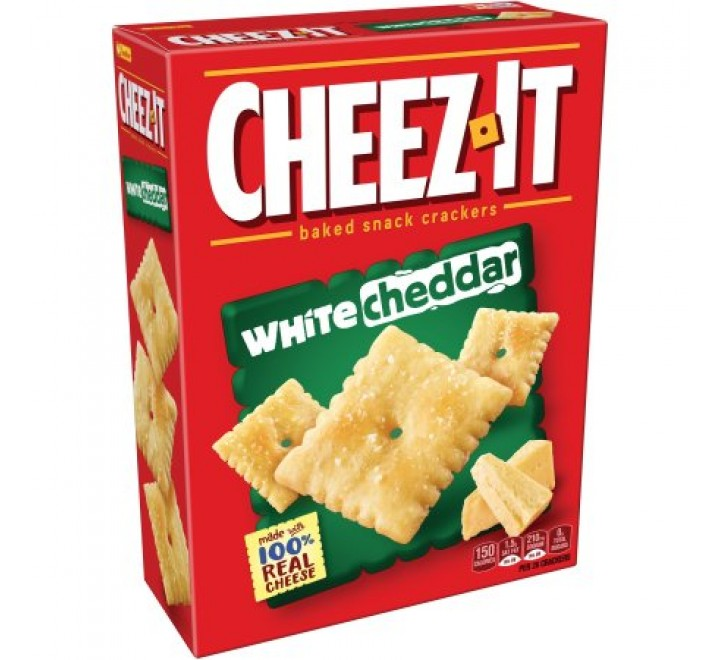 Cheez-It White Cheddar Baked Snack Crackers (198g)