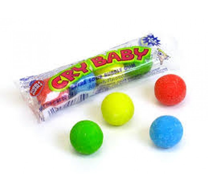 Cry Baby Bubble Gum Extra Sour (18g)