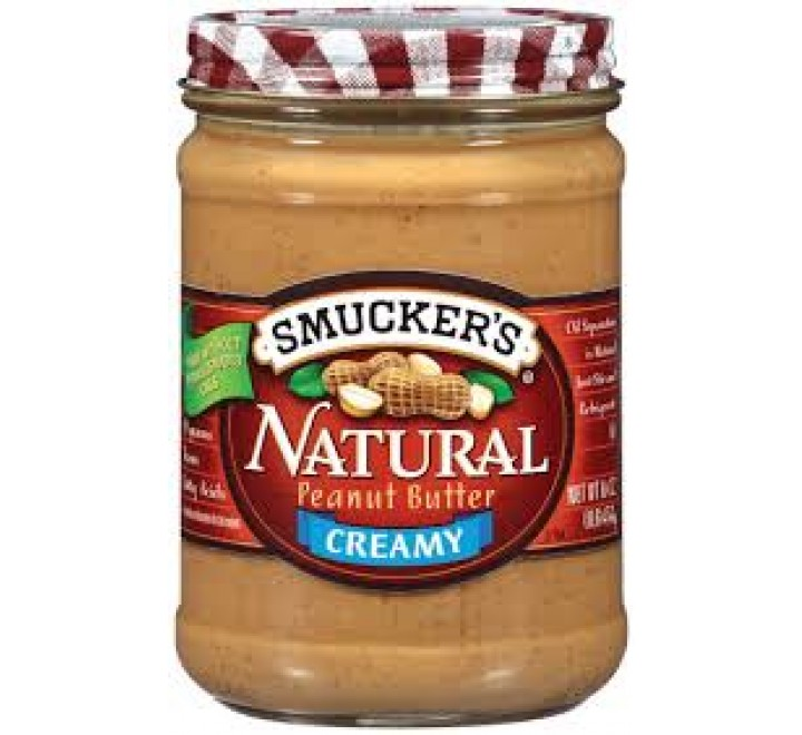 Smucker's Natural Creamy Peanut Butter (454g)