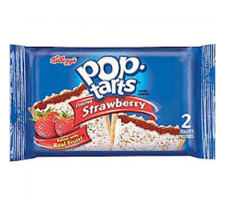 Pop-Tarts Strawberry, Frosted 2-Pack (104g)