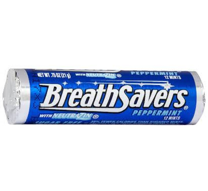 Hershey's Breathsavers Peppermint Mints (21g)