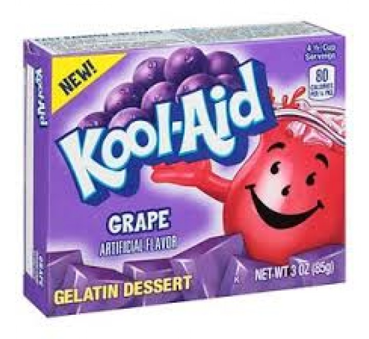 Kool-Aid Grape Gelatin (85g)