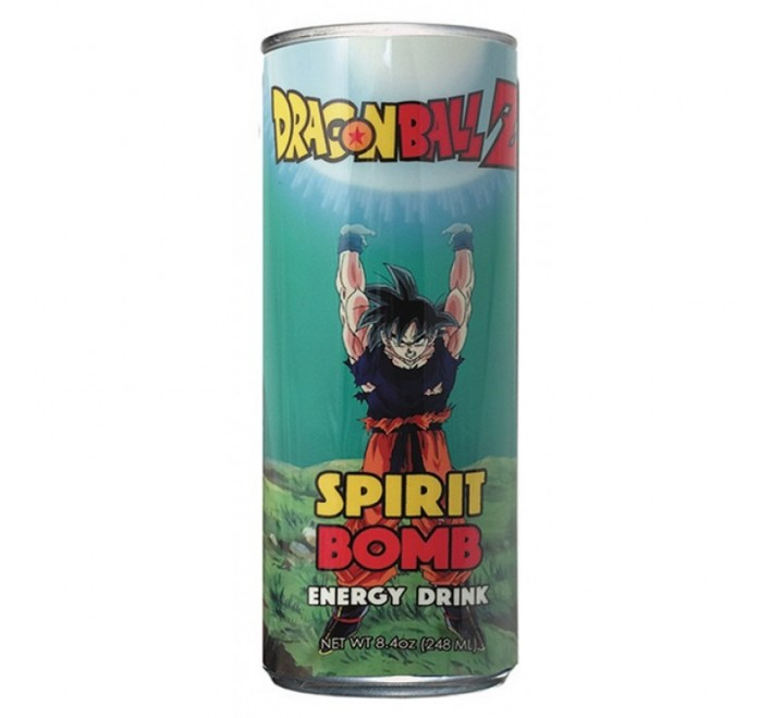 Dragon Ball Z Spirit Bomb Energy Drink (248ml)