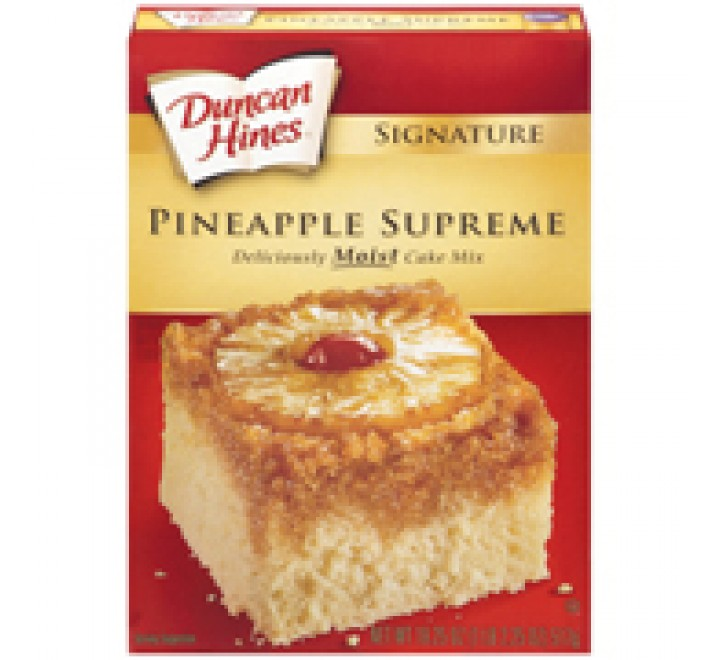Duncan Hines Pineapple Supreme Cake Mix