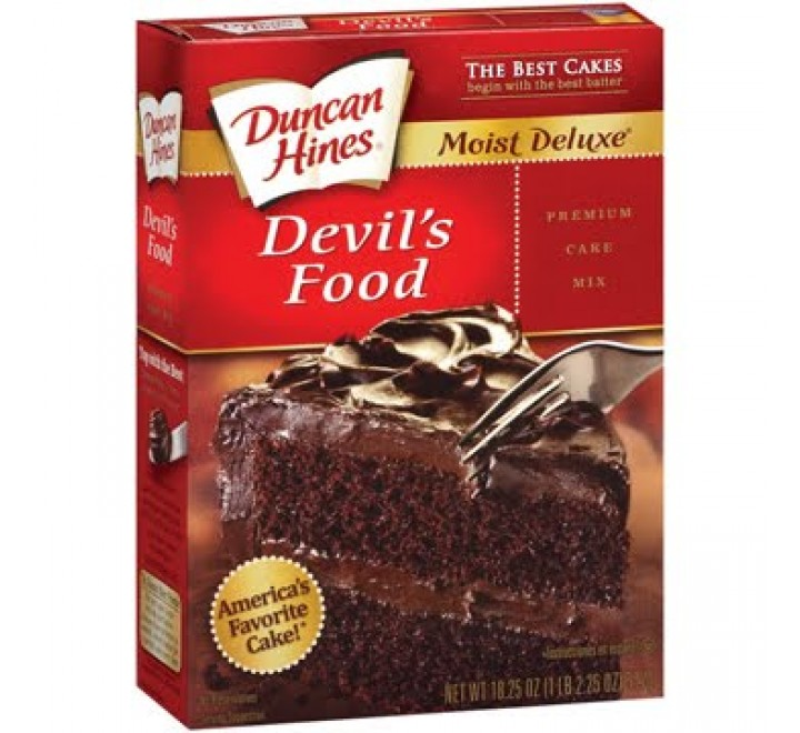 Duncan Hines Devils Food Cake Mix