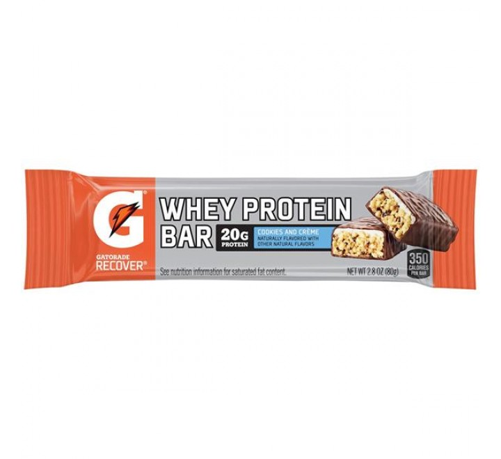 Gatorade Recover Cookies & Creme Whey Protein Bar (80g)