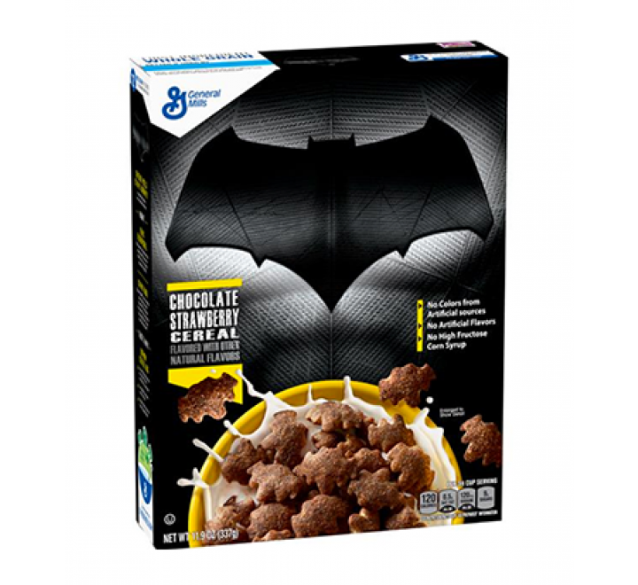 General Mills Cereals Limited Edition Batman Chocolate Strawberry