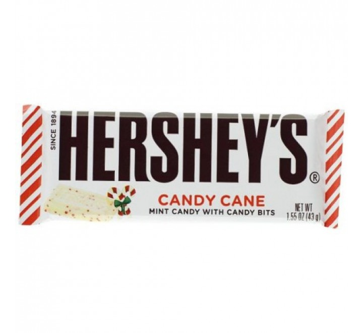 Hershey's Candy Cane White Chocolate (43g)