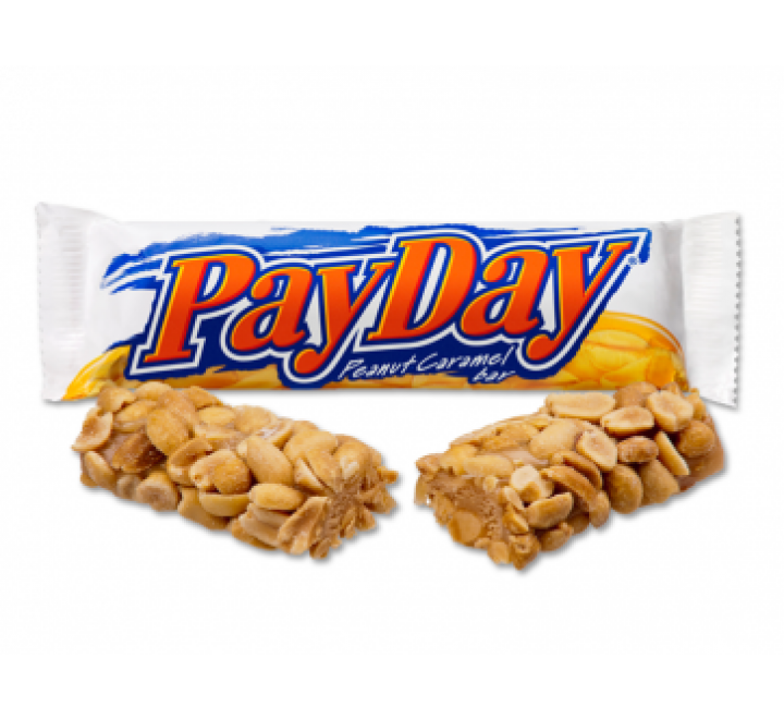 Hershey's Pay Day, Peanut Caramel Bar (52g)