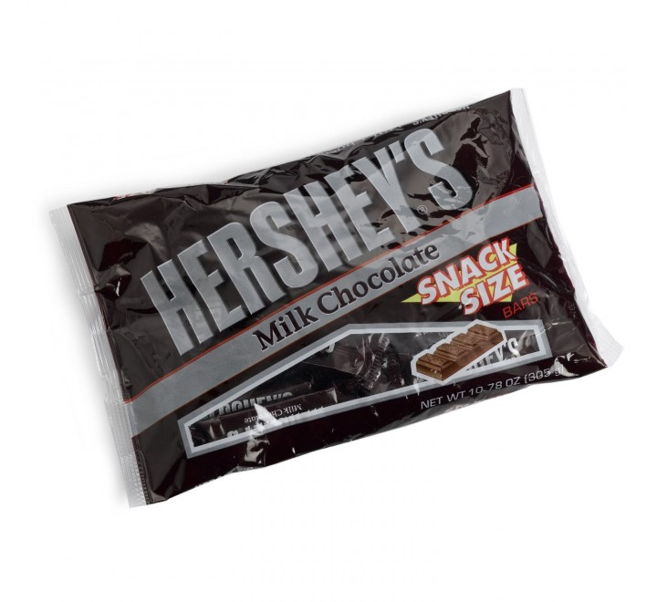 Hershey's Milk Chocolate Snack Size Bars (Limited Edition)
