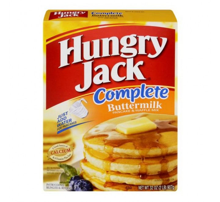 Hungry Jack Complete Buttermilk Pancake & Waffle Mix (907g)