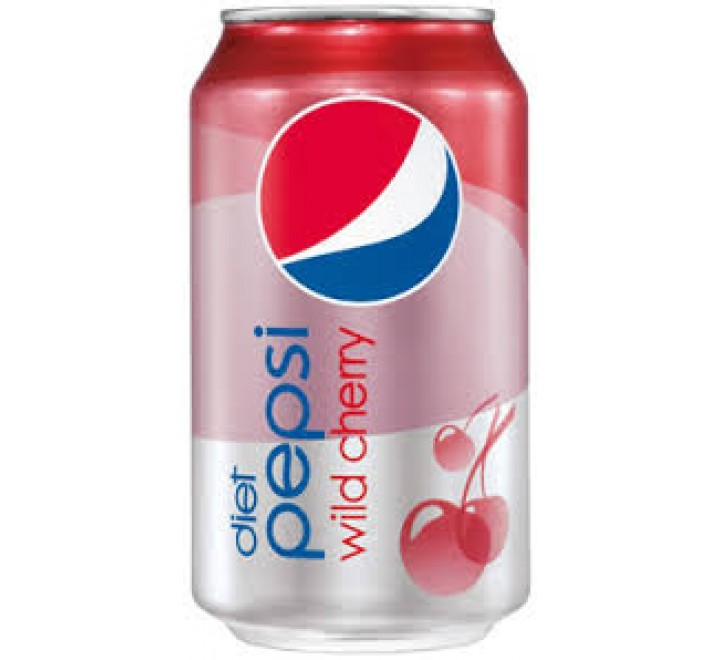 Pepsi Diet Wild Cherry (355ml)