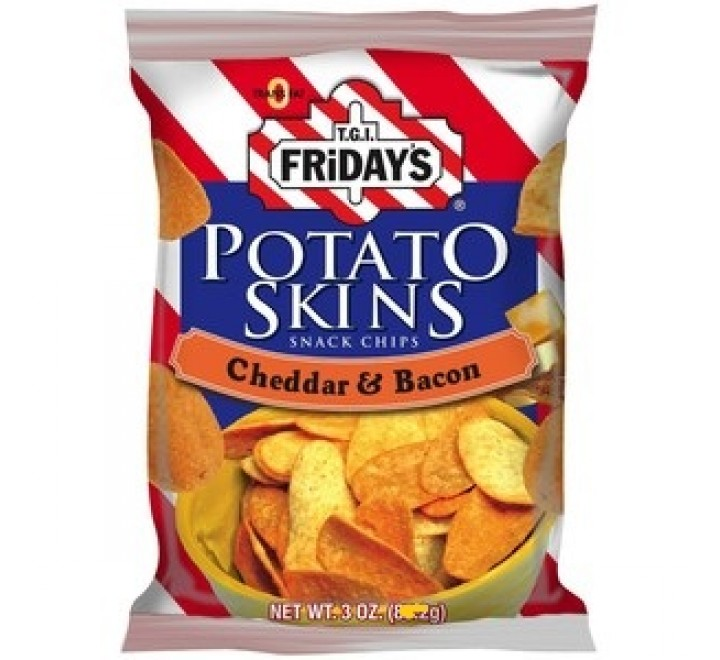 T.G.I. Friday's Potato Skins Cheddar & Bacon (49g)